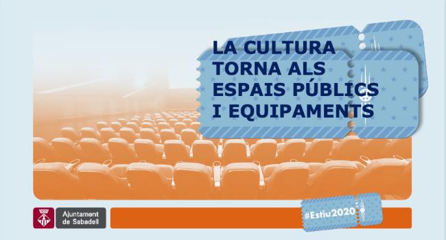 La programació cultural torna al juliol amb propostes de dansa, música, espectacles familiars i cinema a diferents espais oberts