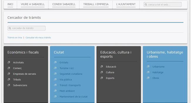 L'Ajuntament de Sabadell obre el període de consulta pública per a la revisió de les ordenances fiscals del 2018