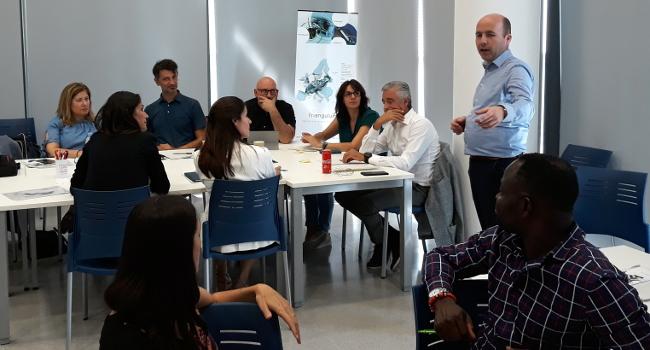 Visita d'una delegació d'Eindhoven per explicar les iniciatives d'acceleració empresarial en el marc del projecte Triangulum