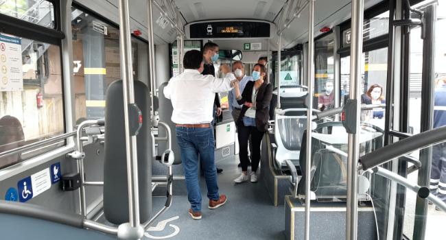 Amb l'arribada de 3 nous autobusos híbrids, Sabadell ja disposa de 18 vehicles de baixes emissions