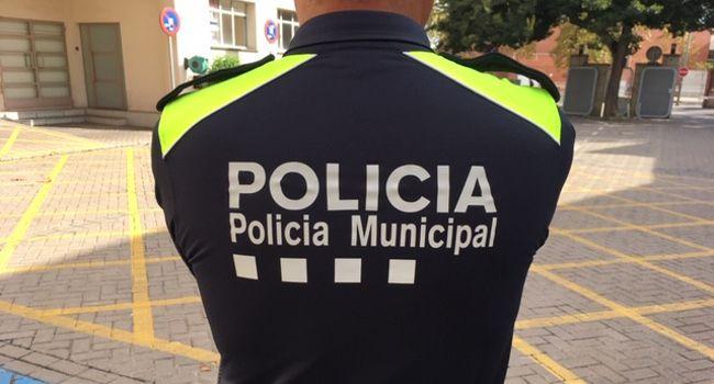 Agents de la Policia Municipal van intervenir dissabte per frustrar el presumpte robatori de cablejat de telefonia