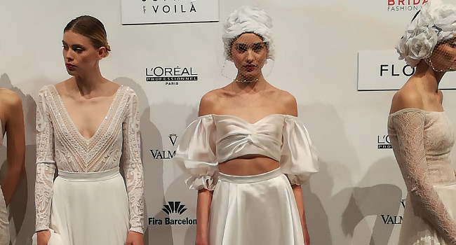 Participació de l'Escola Illa a la Valmont Barcelona Bridal Fashion Week 2019