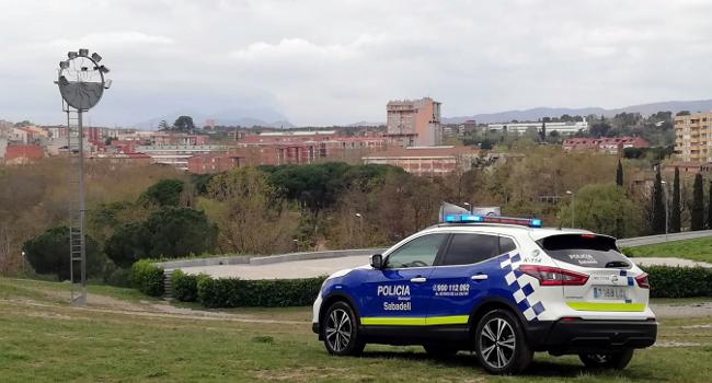 La Policia Municipal vigilarà amb drons que es respecti el confinament de l'Estat d'Alarma