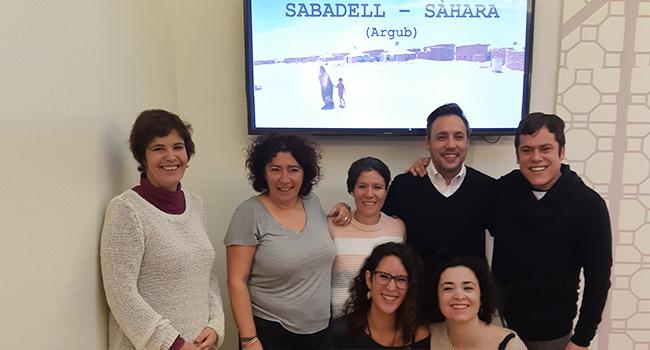La visita als campaments de refugiats, coincidint amb el 30è aniversari de l'agermanament, reforça el lligam de Sabadell amb el poble sahrauí