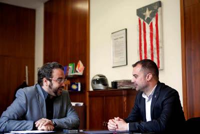 Sabadell i Terrassa obren nova etapa per cooperar en temes d'interès per a les dues ciutats