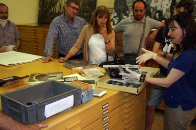Visita guiada a la seu de l'Arxiu Històric, el Dia Internacional dels Arxius