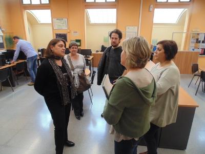 El Vapor Llonch rep la visita de la Diputada delegada de Promoció Econòmica i Ocupació de la Diputació de Barcelona
