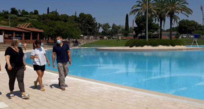 Les piscines municipals ja estan preparades per començar la temporada d'estiu