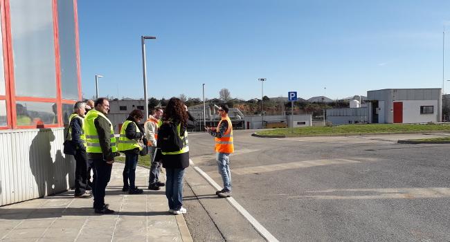 Representants de l'Àrea Metropolitana de Barcelona visiten Sabadell per conèixer els projectes de reutilització de l'aigua