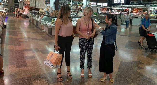 Una delegació d'Eivissa visita el Mercat Central de Sabadell, com un dels models de referència per encarar la reforma de les llotges de l'illa
