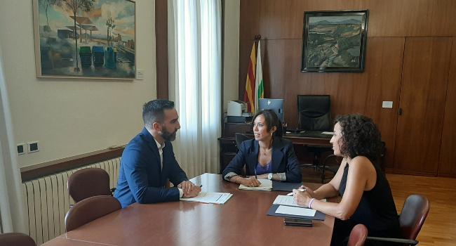 El secretari d'Estat d'Avenç Digital, Francisco Polo, expressa la voluntat que Sabadell esdevingui líder de la revolució digital