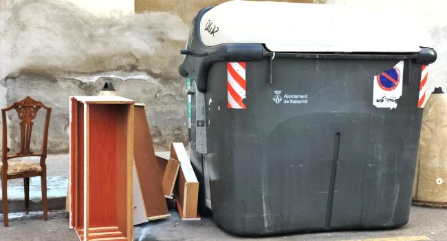Una inspecció detecta un incompliment del 21% en el servei de recollida de voluminosos al carrer