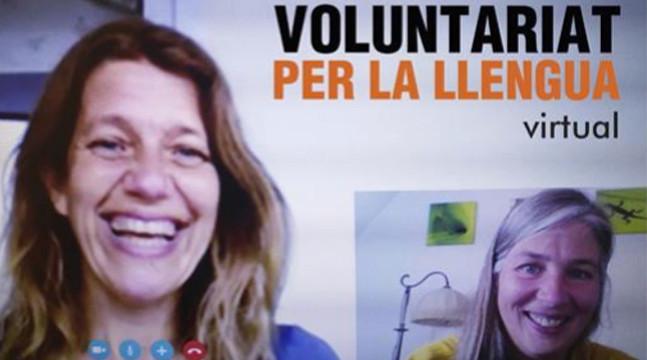 El programa Voluntariat per la Llengua (VxL), que gestiona el CNL de Sabadell, continua en modalitat virtual