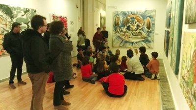 El Museu d'Art posa el punt final a l'exposició de Werens amb una festa
