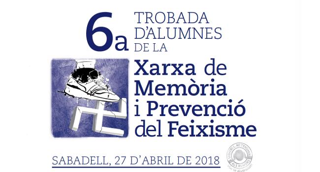Més de 200 alumnes de secundària participen en la sisena trobada de la Xarxa de Memòria i Prevenció del Feixisme, Mai Més